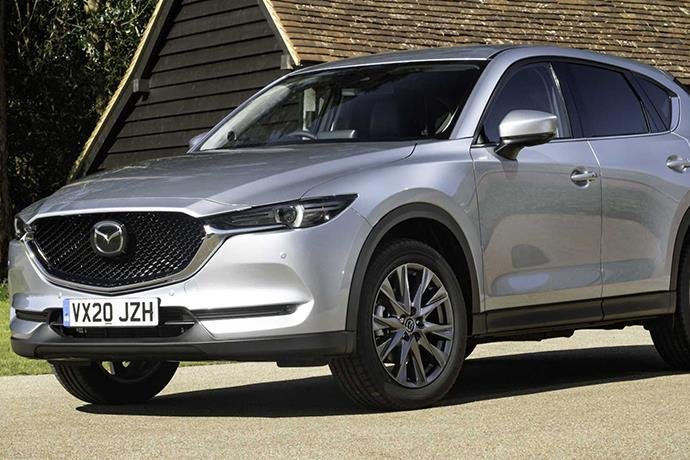 2020 Mazda CX-5 has been updated