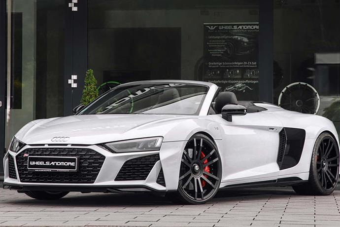 Audi R8 V10 Spyder: Specs of upgraded car by Wheelsandmore