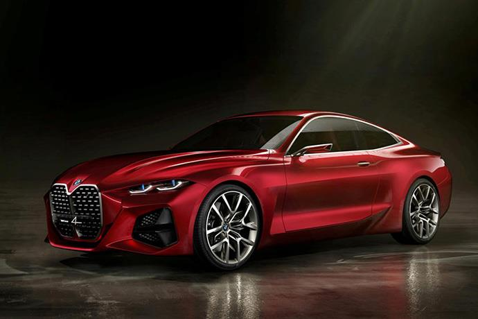 The Design of the BMW 4 series Revealed for the first time
