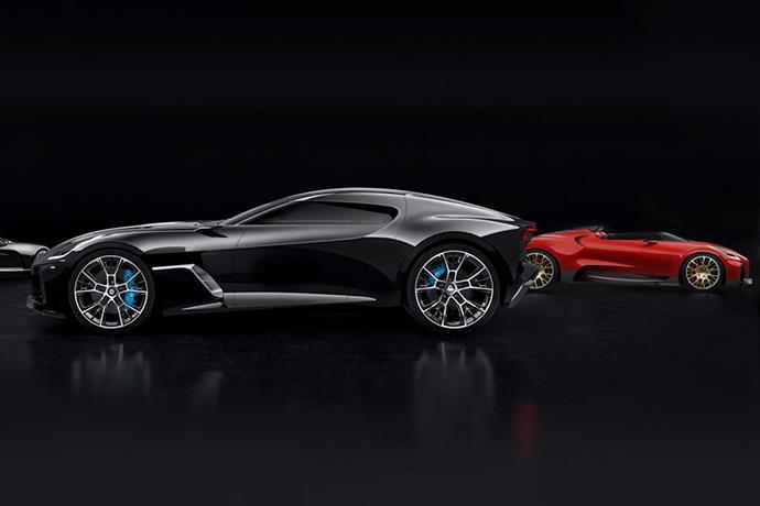Secret consept cars of Bugatti