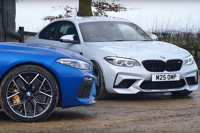 Drag Race of BMW M2 vs M8