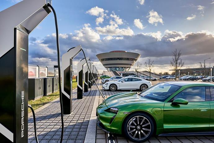 Porsche opens Europe's most powerful rapid-charging park