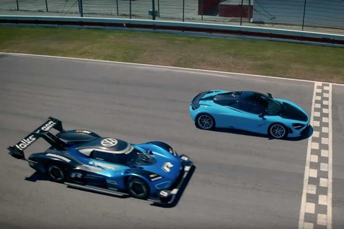 Fast and Electrical: Volkswagen I.D. R vs McLaren 720s
