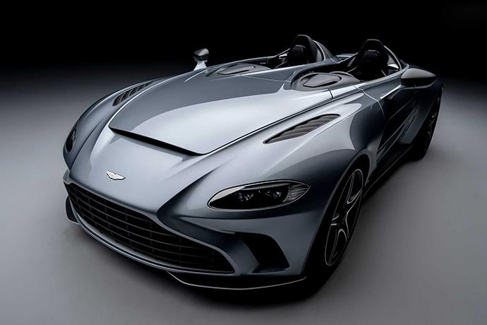 Aston Martin V12 Speedster debuts with no windshield