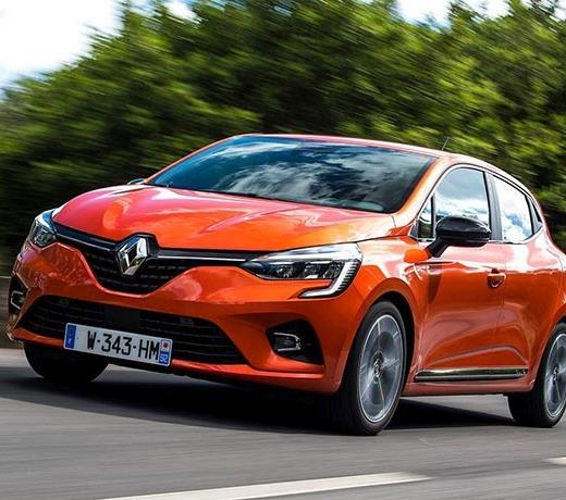Renault Clio is Europe's best-selling model in February
